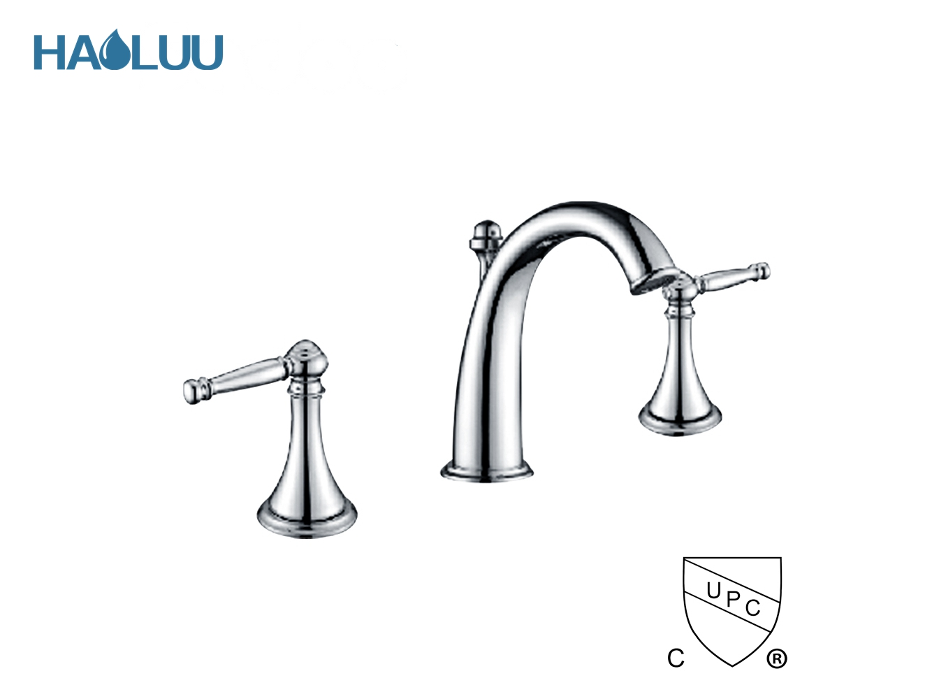UPC Three Way Faucet With Pop-up HL91912